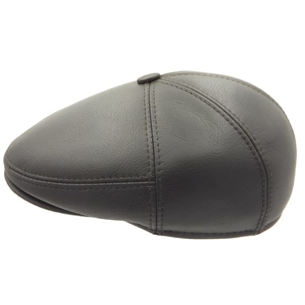 Stylish Leather Cap - 02Z-2