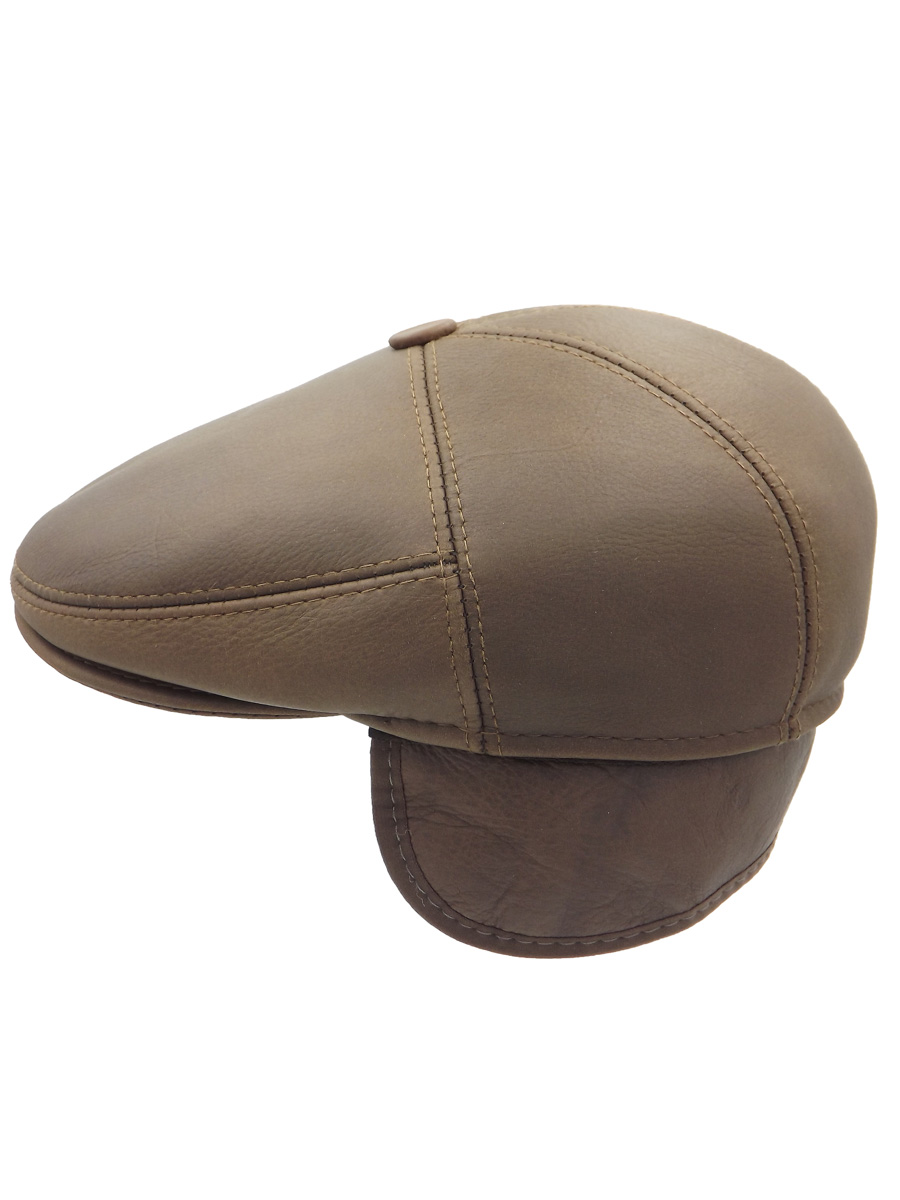 Stylish Leather Cap - 02Z-4