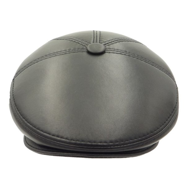 Leather Stylish Classic Cap - 02Z1