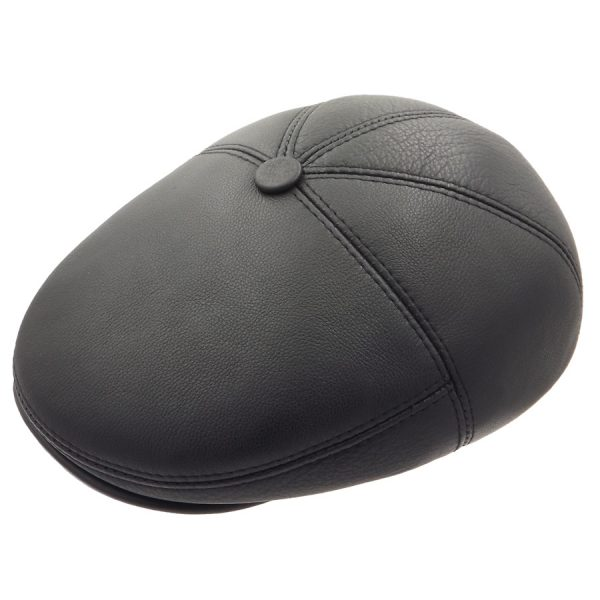 Classic Leather Cap - 02Z11