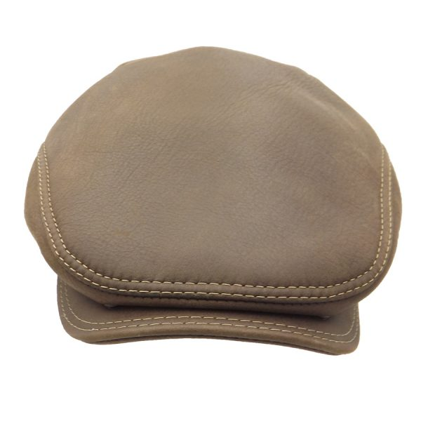 Stylish Leather Cap - 033Z-3