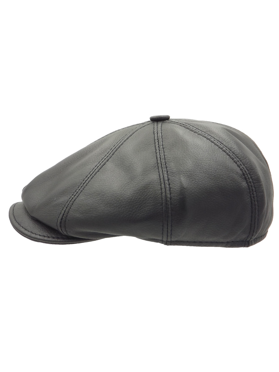 Eight-piece Leather Cap - 08Z-1