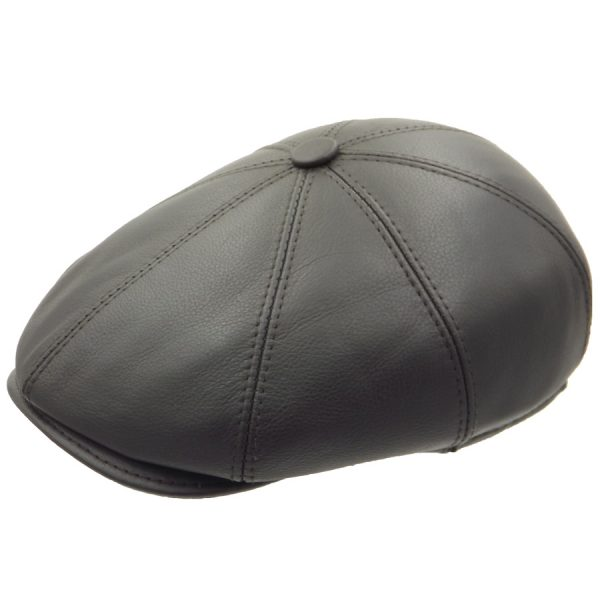 Eight-piece Leather Cap - 08Z-2