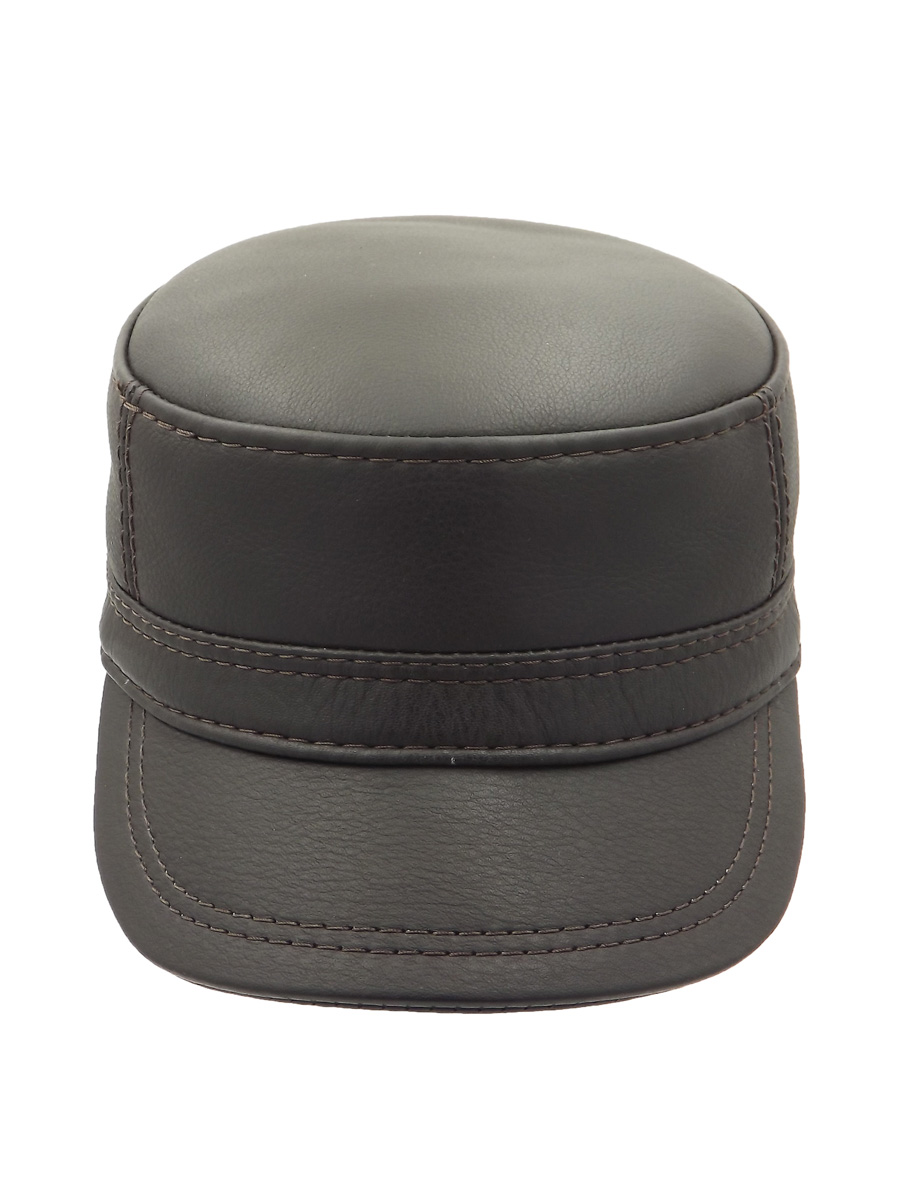Demi-Season Leather Cap - 022Z2
