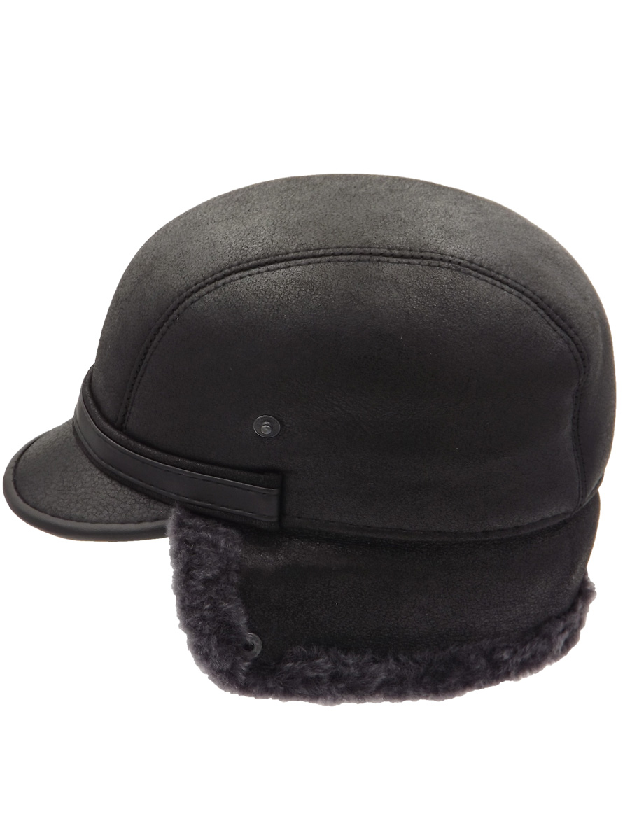 Stylish Black Raglan Hat - 016K-11