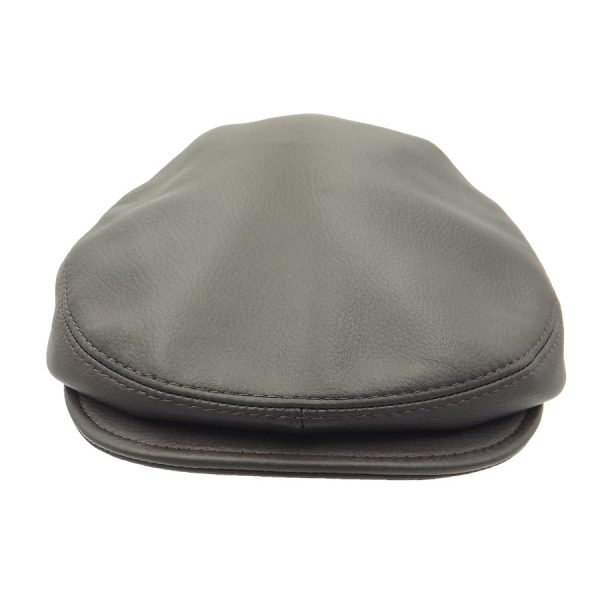 Stylish Brown Raglan Cap - R04Z-2