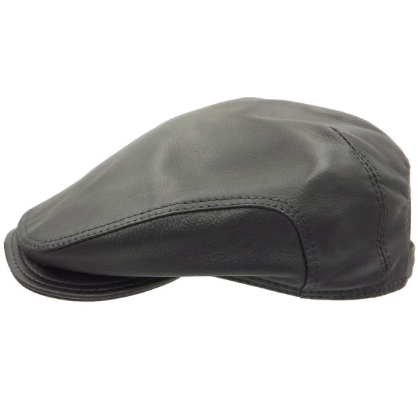 Stylish Black Raglan Cap - R833Z-1