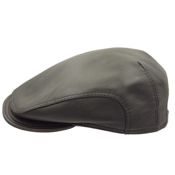 Stylish Brown Raglan Cap - R833Z-2